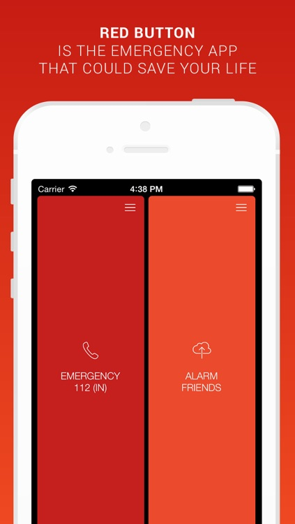 Red Button - Emergency services worldwide