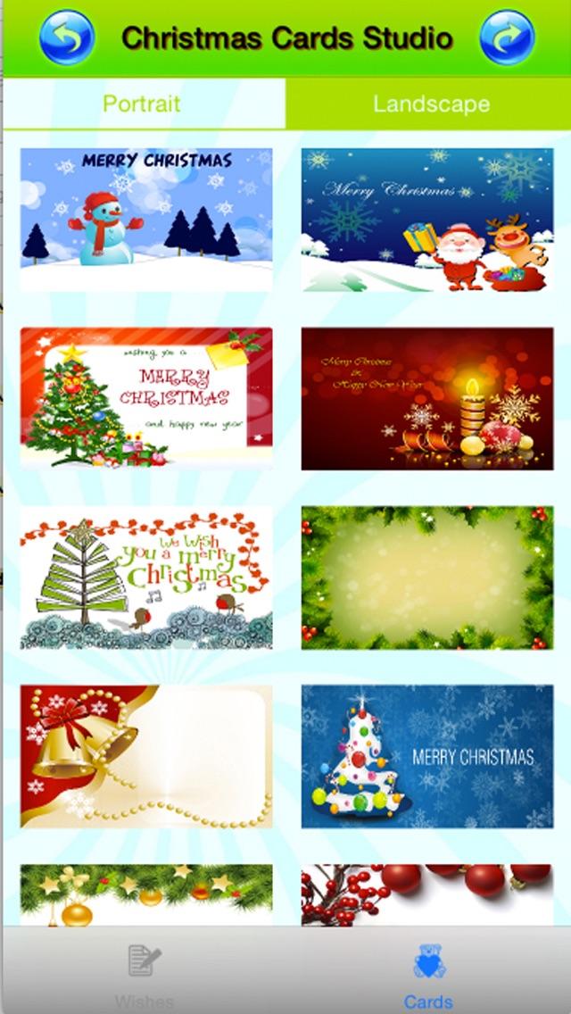 Merry Christmas Ecards review screenshots