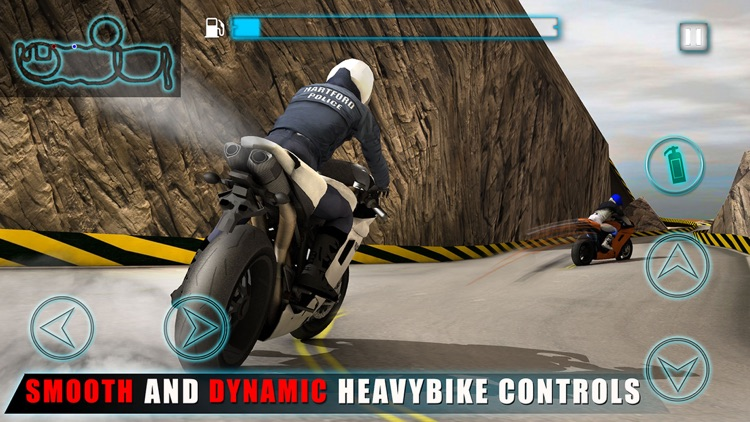 Police Fast Motorcycle Rider 3D – Hill Climbing Racing Game screenshot-4