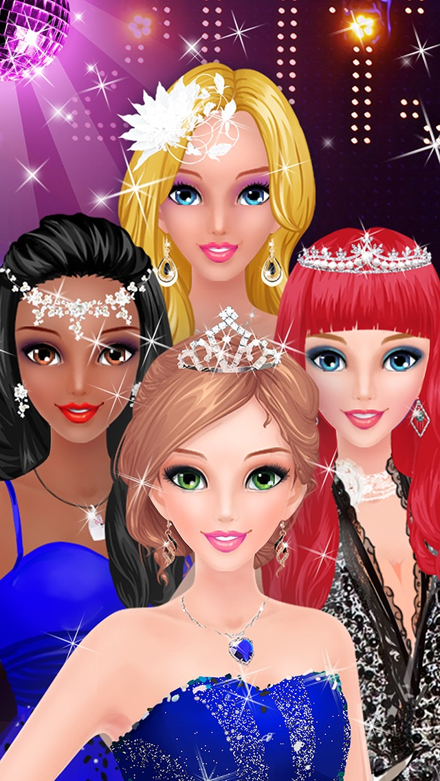 Prom Salon Spa - Girls Gamesのおすすめ画像4