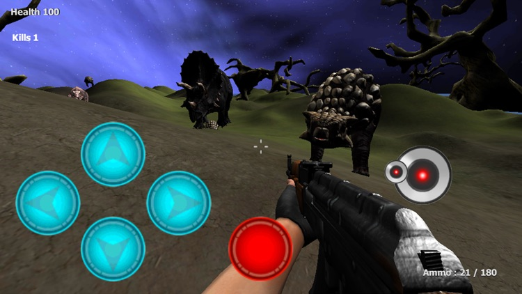 Dinosaur Hunter Rampage FPS screenshot-3
