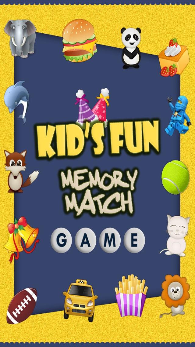 Kids Fun Memory Match Game!