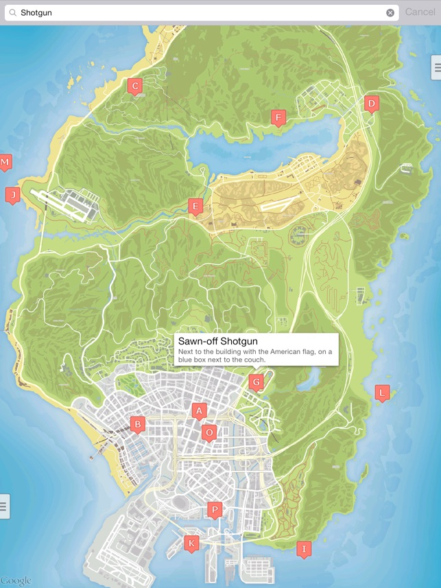 Gta5 Karte.Interactive Map For Gta 5 Unofficial Im App Store