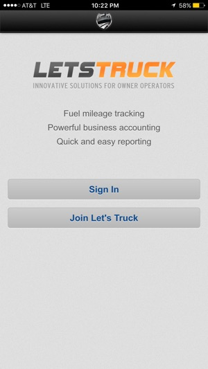 let s truck on the app store