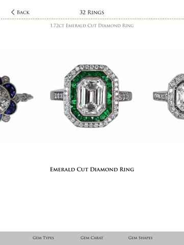 Vintage Engagement Rings - Try It On - Estate Diamond Jewelry screenshot