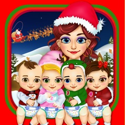 Mommy's Christmas Baby Salon Doctor - my hair spa santa makeover for kids!