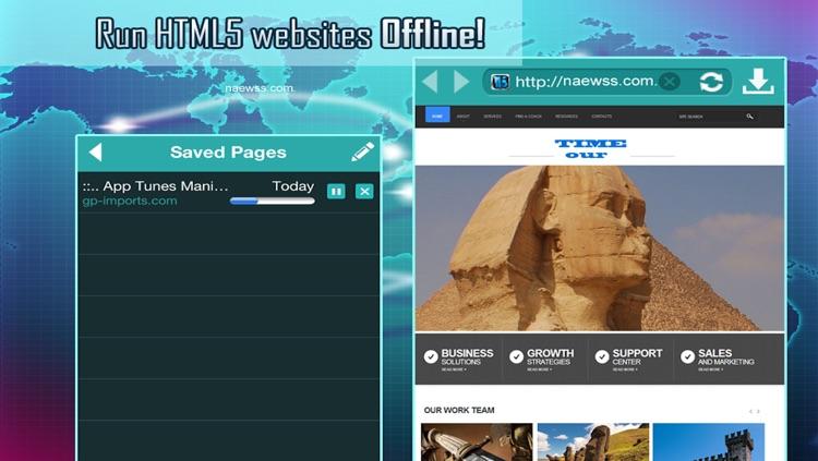 Offline Web Browsing Tool