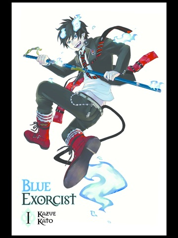 blue exorcist vol 1 by kazue kato on apple books