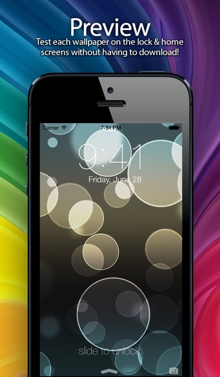 Wallpapers 2 for iOS 7 screenshot-0