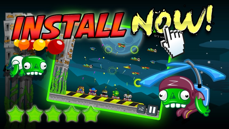 Zombie Defense - Shoot Flying Attack Zombies And Defend The Farm FREE screenshot-3