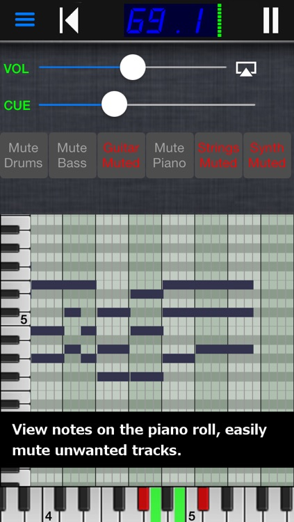 Midi Player screenshot-0