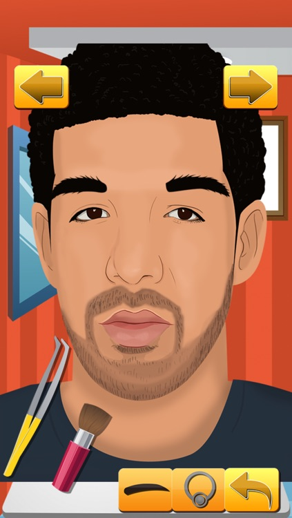 A Drizzy Eyebrow Pluck Makeup Spa - Beauty Salon Hair Plucking Game for Girls Drake Edition
