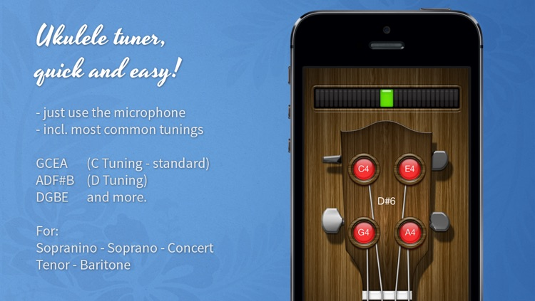 Ukulele Chromatic Tuner