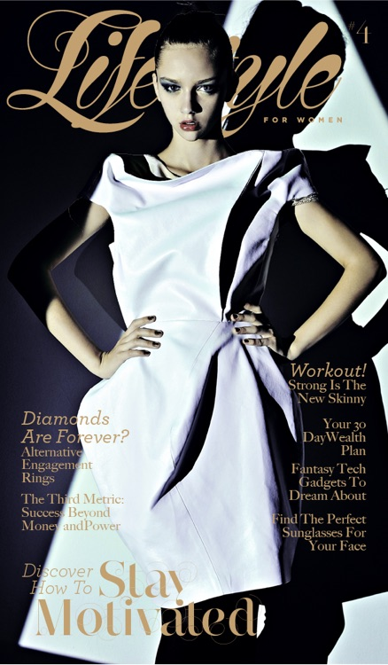 A Lifestyle For Women's Magazine For iPad & iPhone