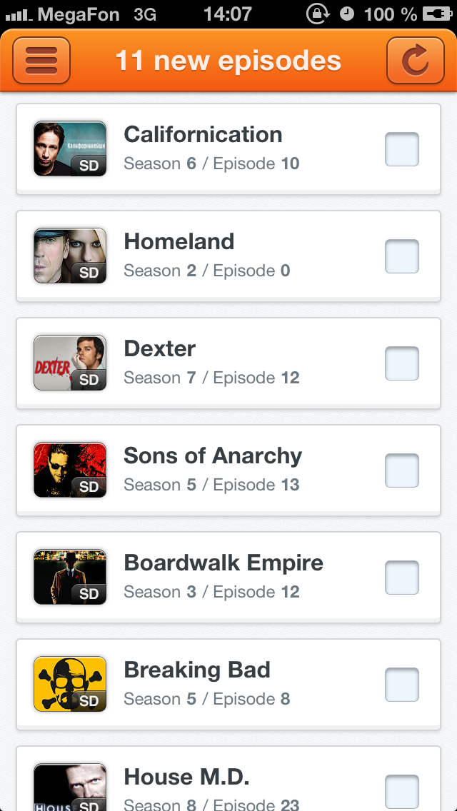Top 10 Apps like 60hz Tv Series Tracker in 2019 for iPhone