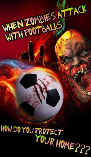 Zombie Soccer (Death Football Goalkeeper) screenshot one