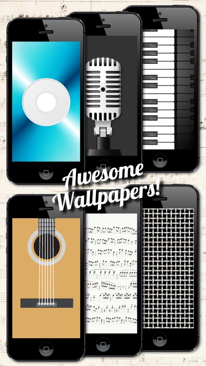 Music Backgrounds, Wallpapers and Themes for Musicians and Artists