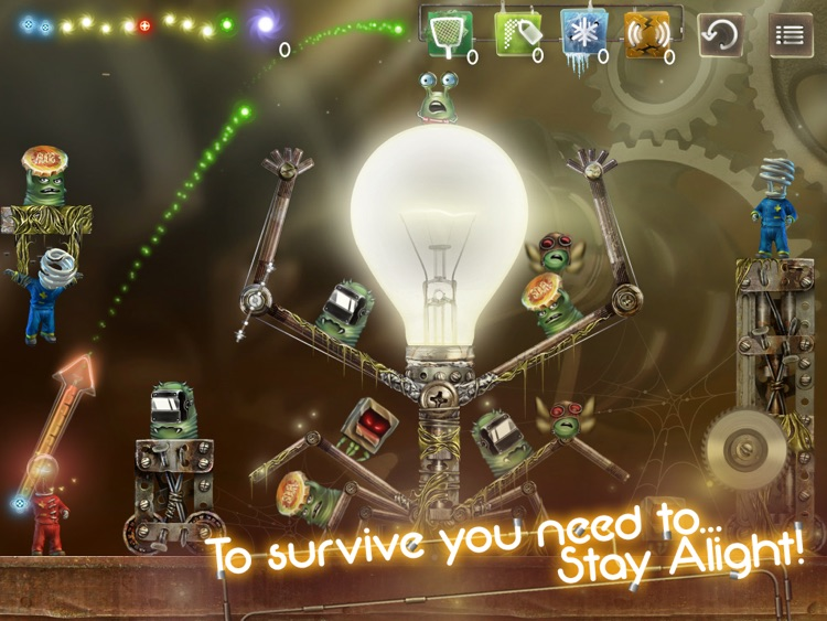 Stay Alight HD - Arcade Game with Action and Puzzle elements screenshot-4