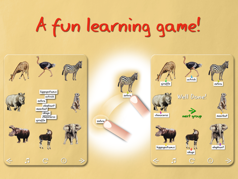 Animal Name Game screenshot