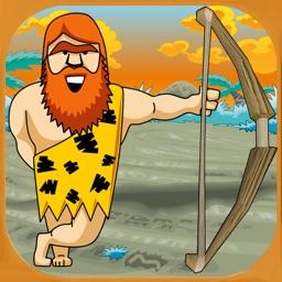 Caveman arrow and apple shooting game - Free Edition