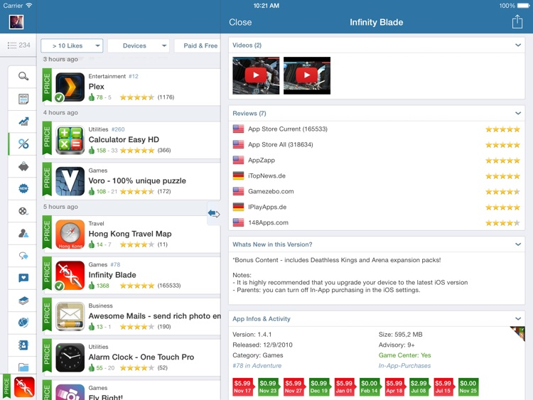 AppZapp HD Pro - daily new Apps, best hot deals & free Apps screenshot-2