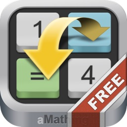 aMathing Free: a brain training math puzzle game