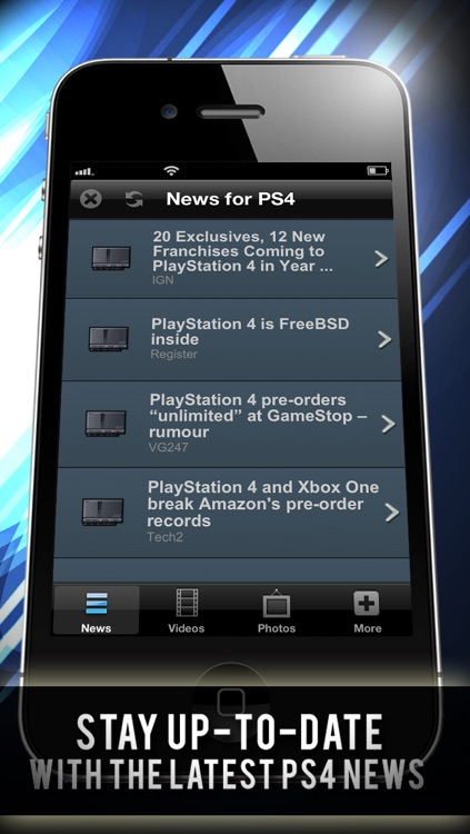 Daily News for PS4 - Updated Daily! include News Video