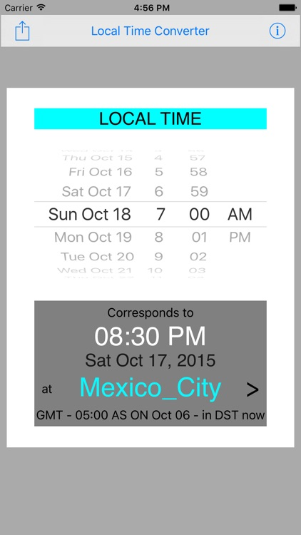 Local Time Converter screenshot-1