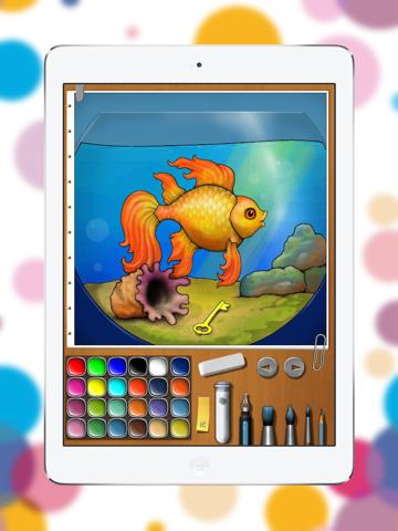 iКраска - волшебная детская раскраска для iPad скачать ...
