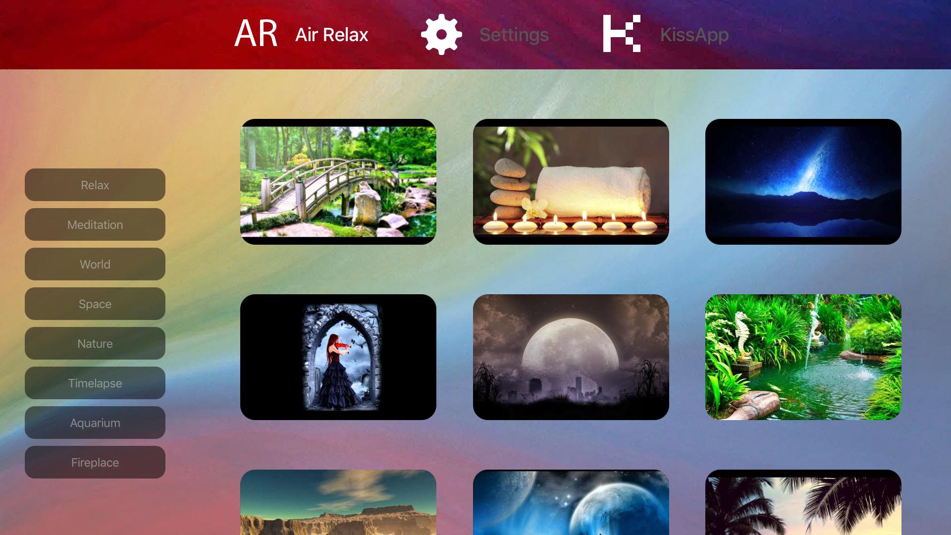 Aquariums Fireplaces AIR RELAX screenshot 11