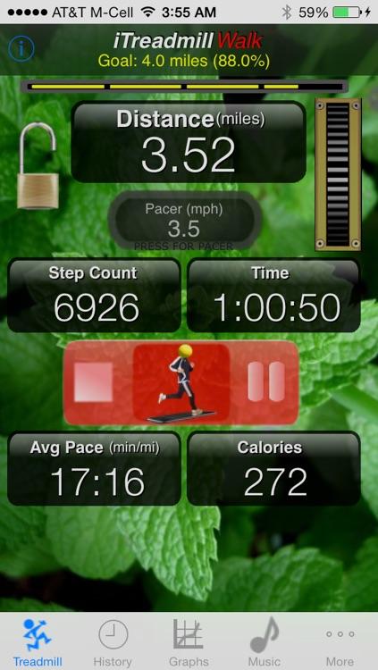 iTreadmill:Pedometer Ultra w/ PocketStep™