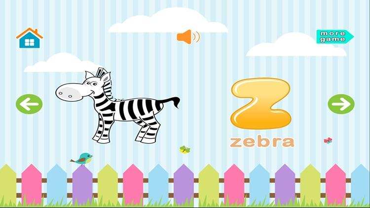Learn Alphabet Game Kids screenshot-4
