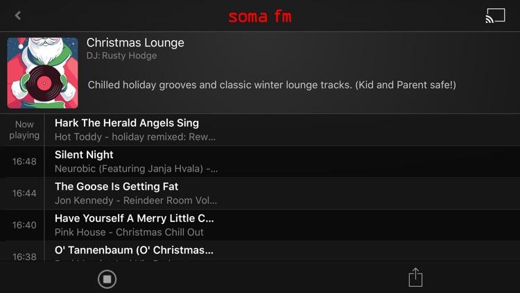 SomaFM Holiday Radio screenshot-4