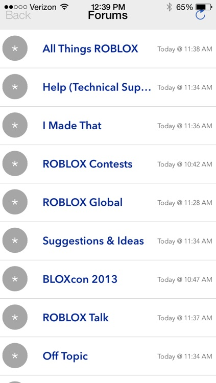 Forums for ROBLOX