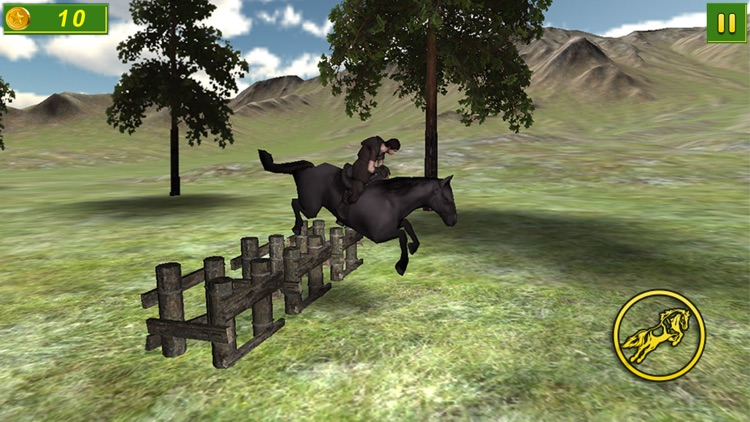 Forest Horse Jumping 3D Free