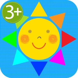HugDug Shapes 1 - Easy geometry puzzles for toddlers and preschool kids full version.