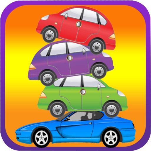 Crazy Car Stacker - Free Tower Racing Stacking Challenge Games