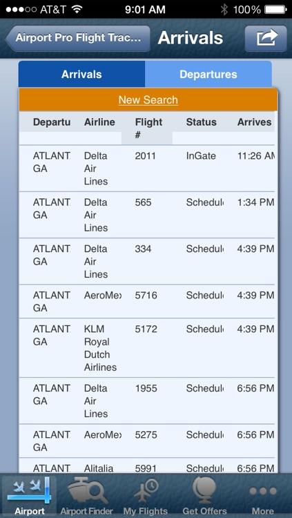 Cincinnati Northern Kentucky Airport + Flight Tracker screenshot-3