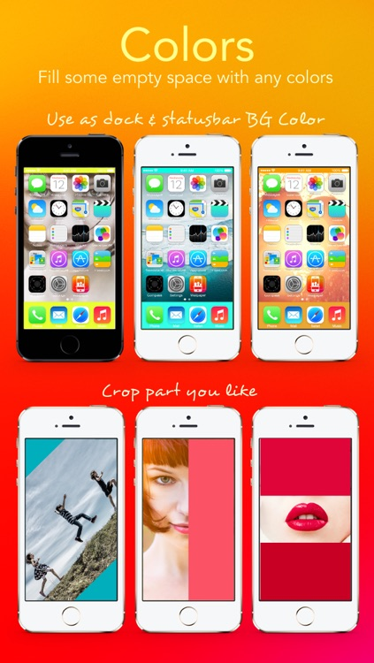 Wallpaper Fit - Custom Background Wallpaper and Lock Screen from Your Photo Picture and Image for iOS 7 screenshot-3