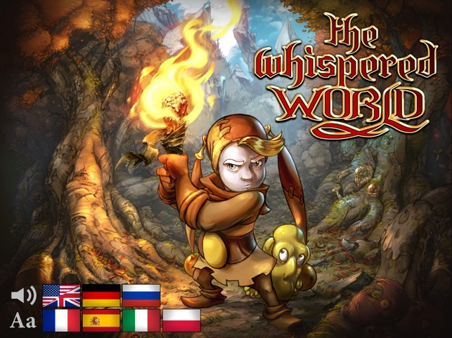 ‎The Whispered World Special Edition Screenshot