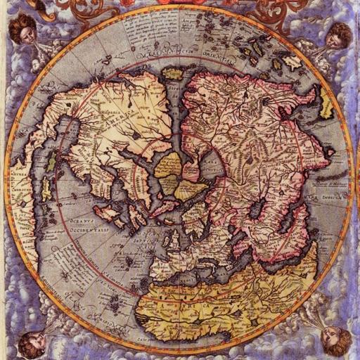 Ancient World Maps by Gabriel Dana