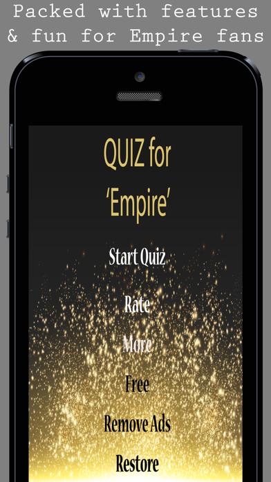 Quiz for Empire TV Show fans screenshot one
