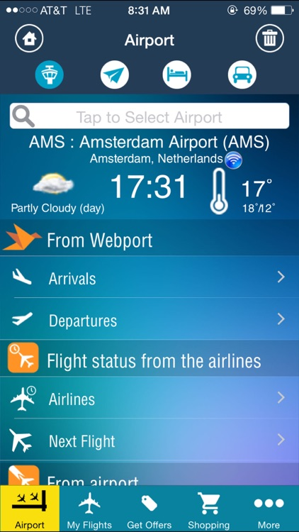 Amsterdam Airport (AMS) Flight Tracker Schiphol screenshot-1