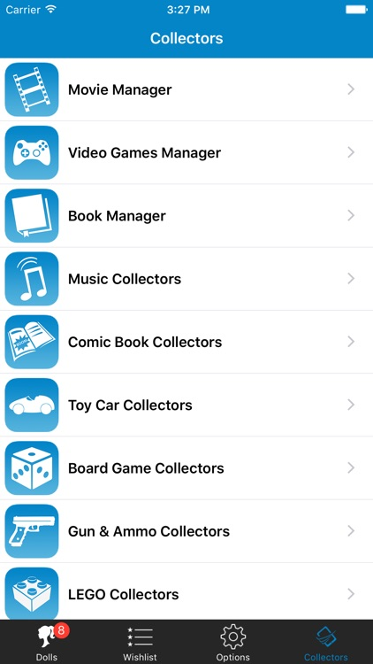 Doll Collector List Checklist Database screenshot-4