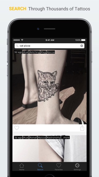 Inked - Your tattoo companion app - Find and save the best tattoo ideas and designs