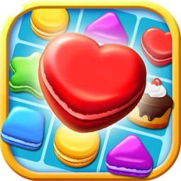 Candy Cake Boom - 3 match splash desserts puzzle game