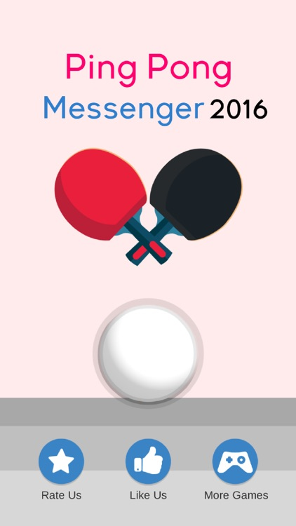Messenger Ping Pong 2016 : NEW Table Tennis