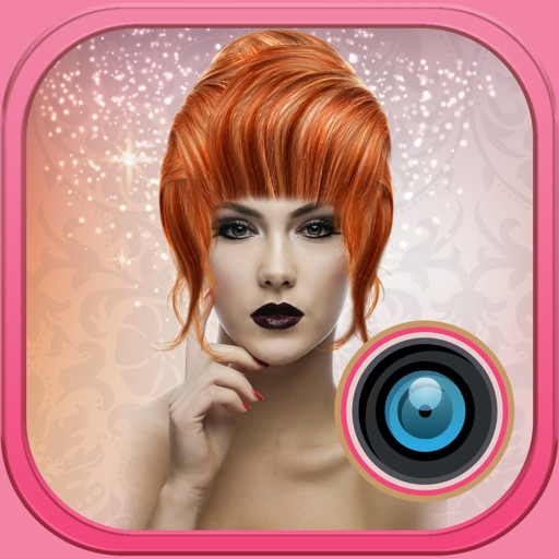 Hair Color Photo Changer – Beauty Picture Booth with Effects for an Instant Haircut Makeover