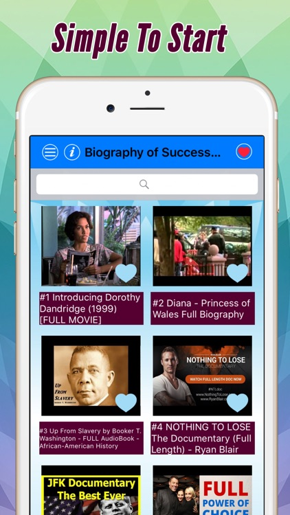 Successful people: Biography, habit and more by videos Pro screenshot-0