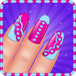 Princess Nail Art Salon Games For Kids By Anchalee Pradissook